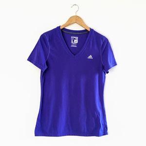 Adidas Purple Ultimate Tee